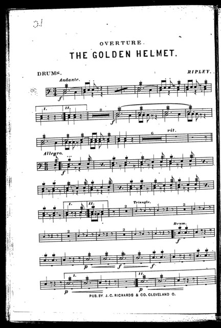 Overture; The Golden helmet
