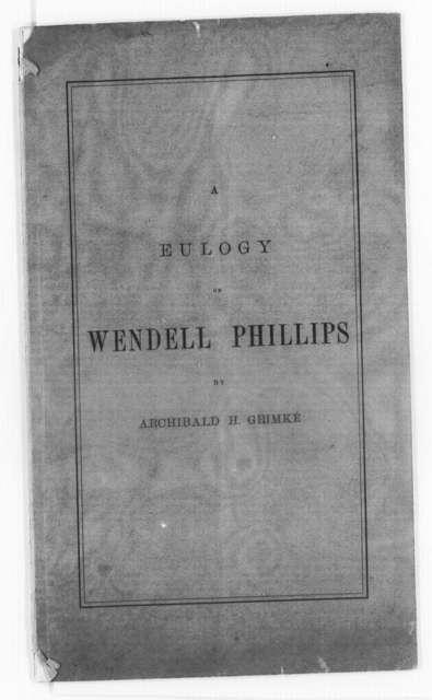 Phillips, Wendell