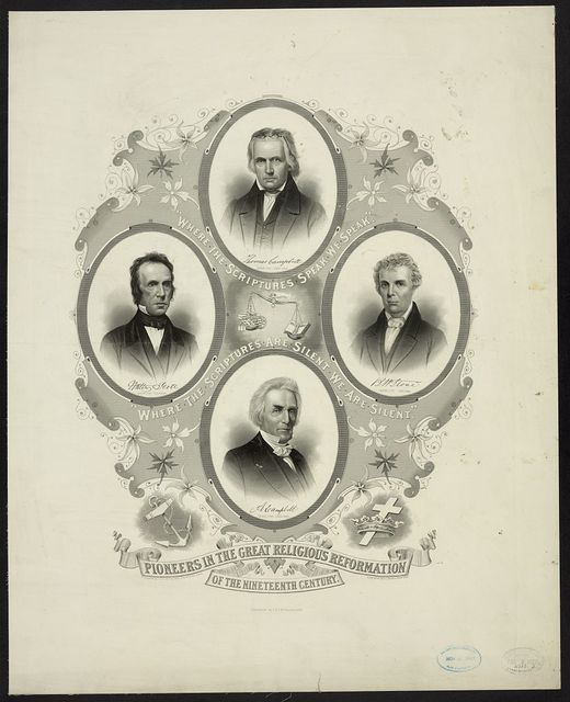 Pioneers in the great religious reformation of the nineteenth century / eng. by J.C. Buttre ; designed by J.D.C. McFarland.
