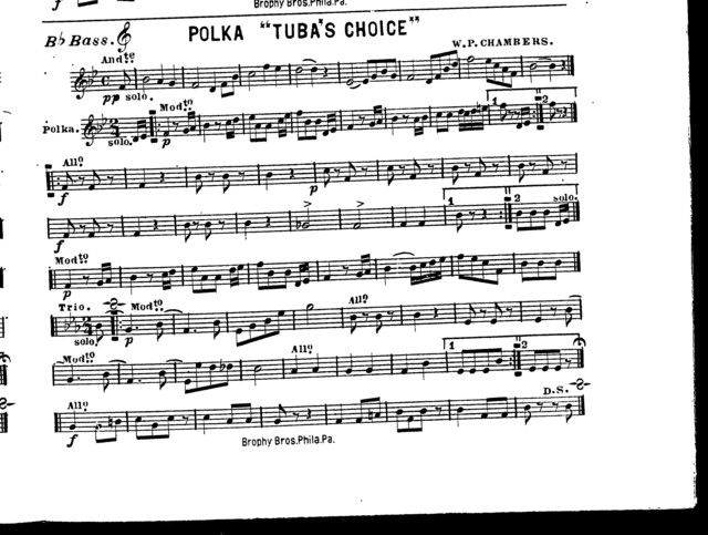 """Polka """"Tuba's choice"""""""