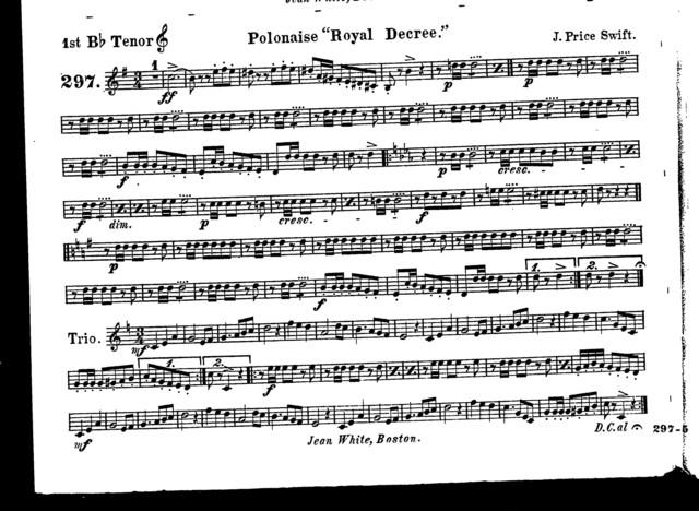 """Polonaise """"Royal decree"""""""
