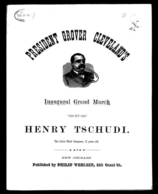 President Grover Cleveland's inaugural grand march