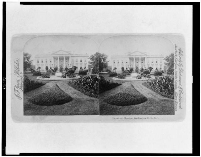 President's mansion, Washington, D.C., U.S.A.