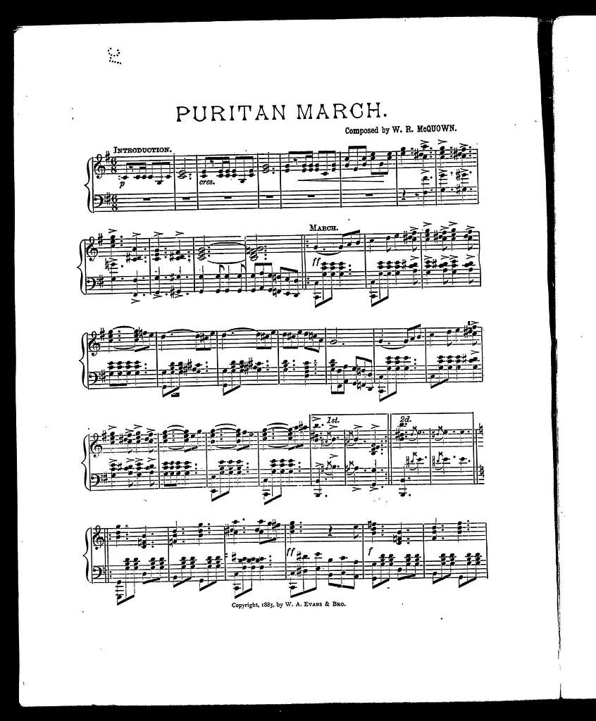 Puritan march
