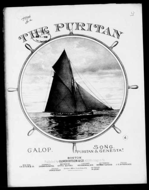 Puritan, The; Galop