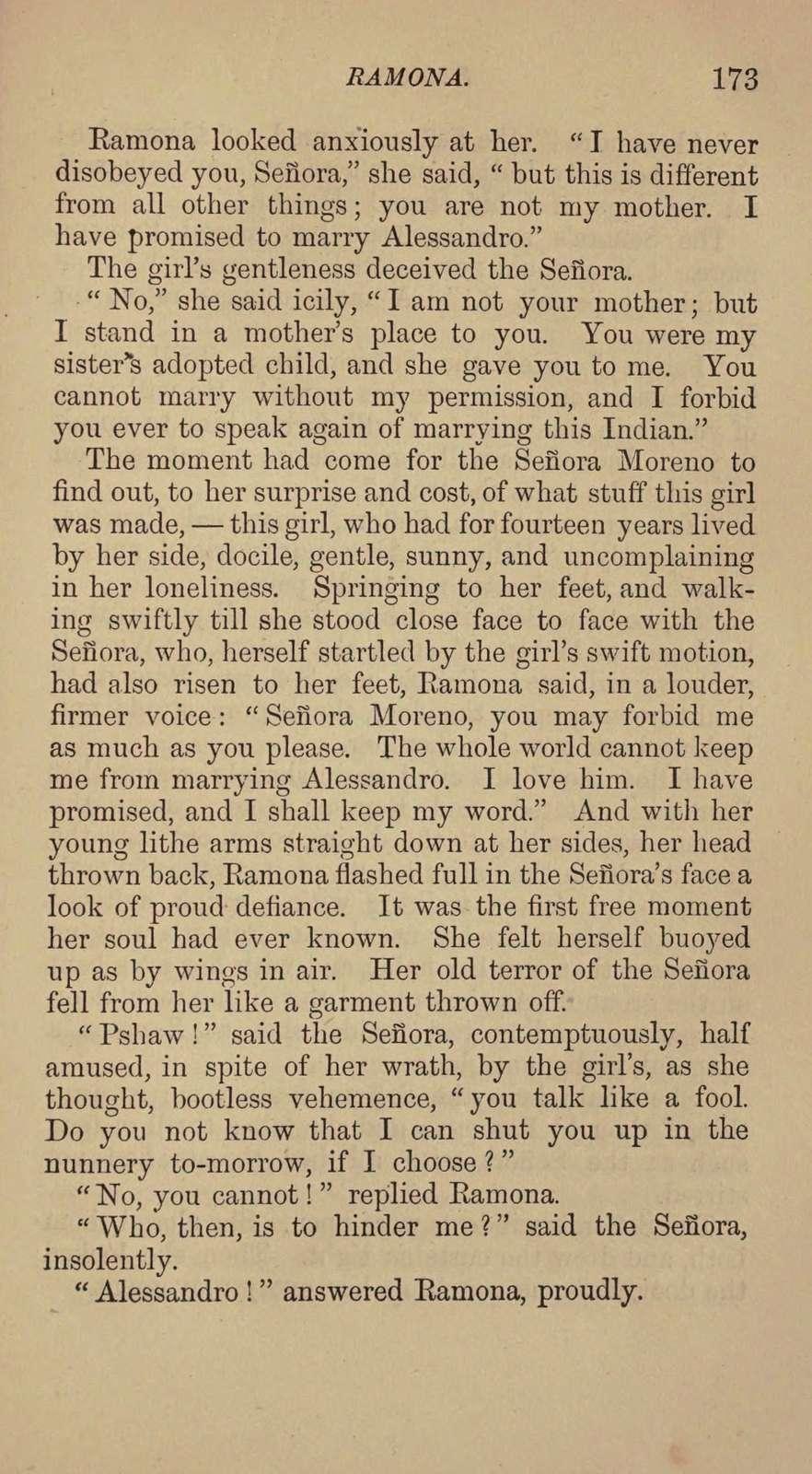 Ramona. A story