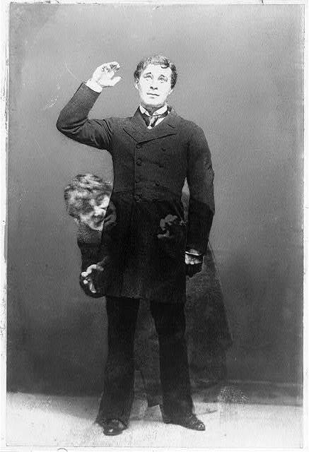 Richard Mansfield as Dr. Jekyll and Mr. Hyde