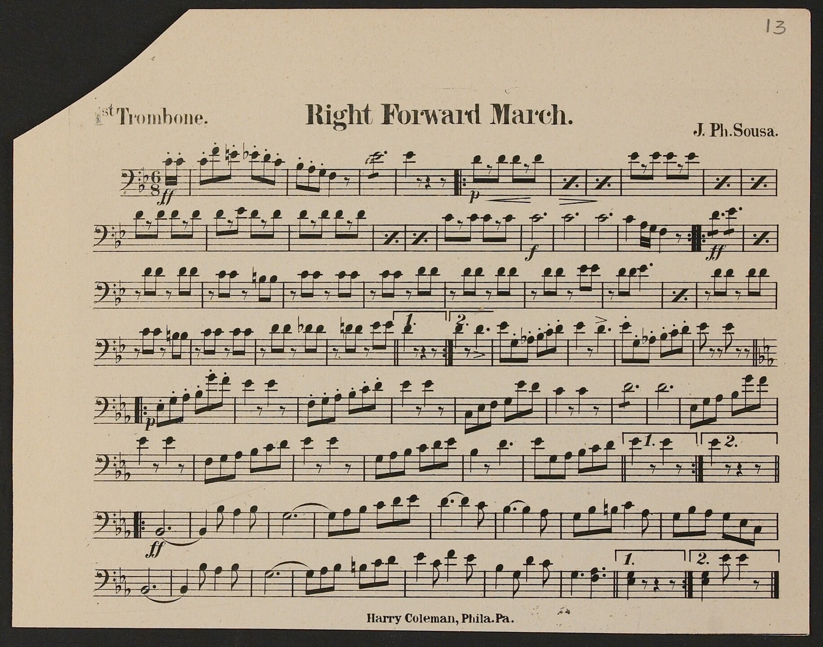 Right Forward March