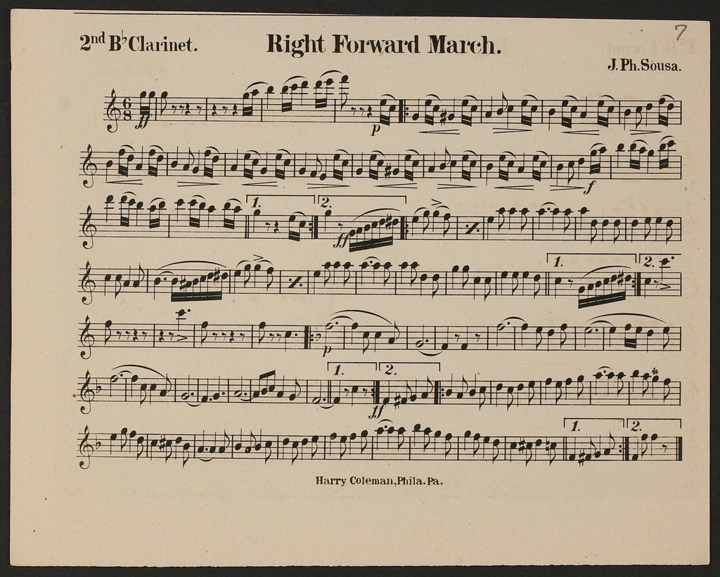 Right Forward March