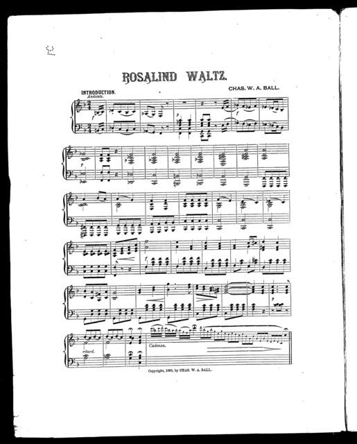 Rosalind waltz