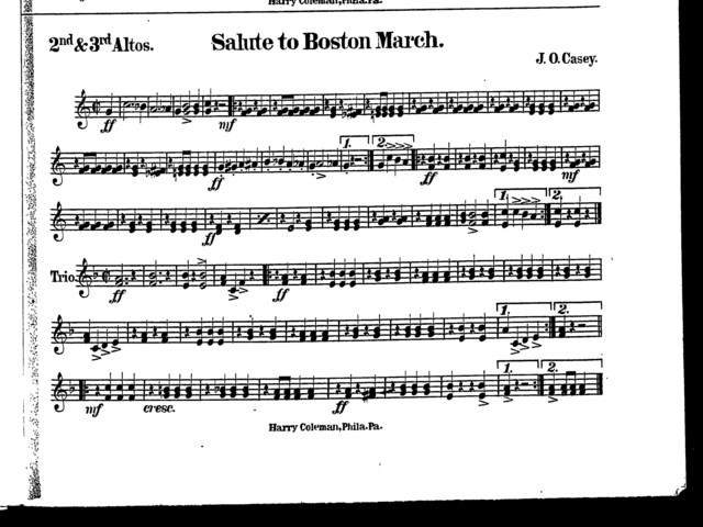 Salute to Boston march