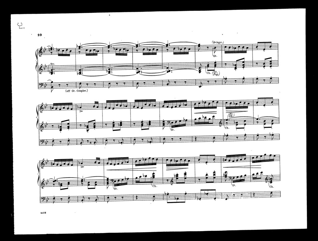Scherzo [from] Midsummer night's dream
