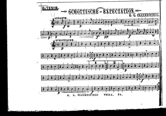 Schottische; Expectation