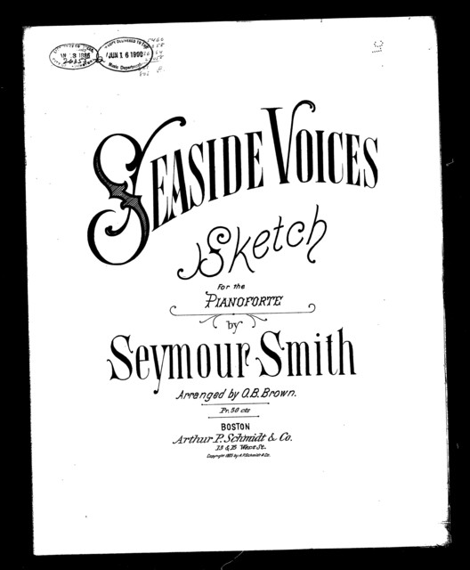 Seaside voices; Sketch