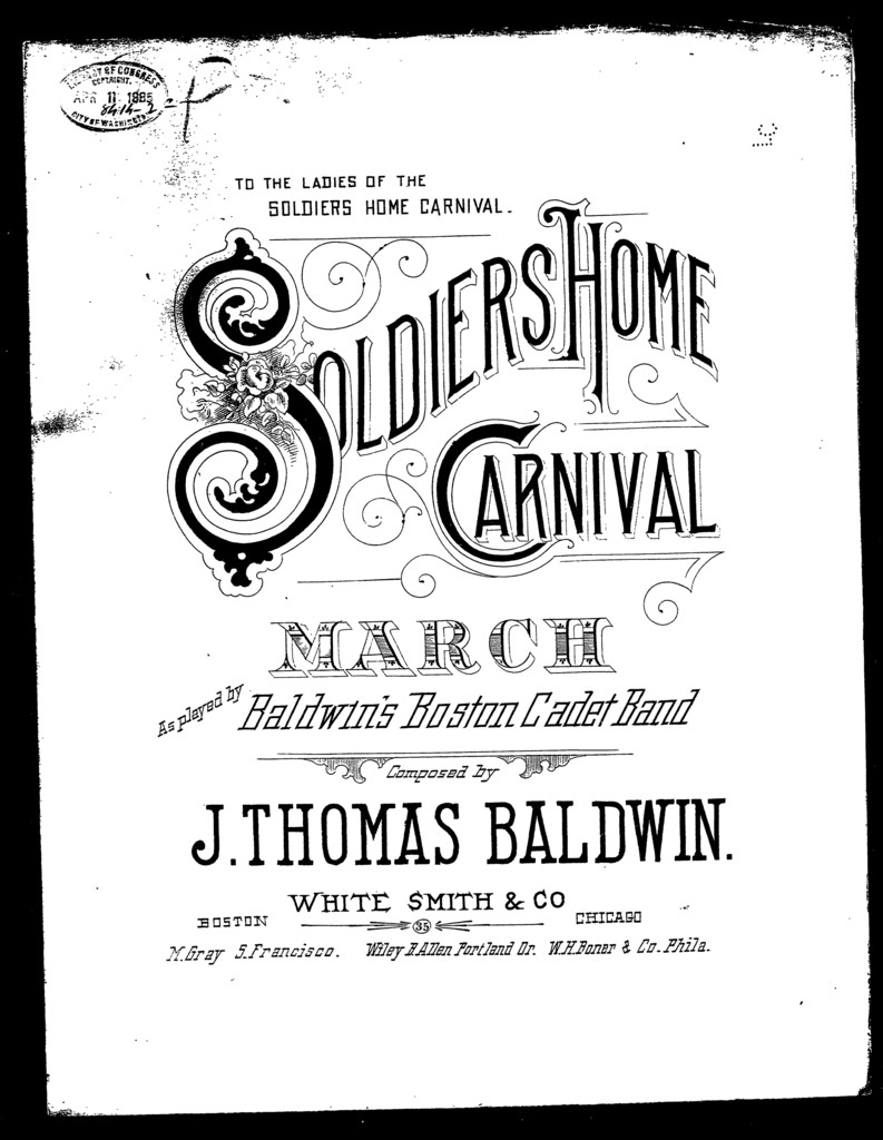 Soldiers' home carnival; March