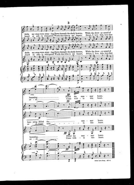 Swiss love song