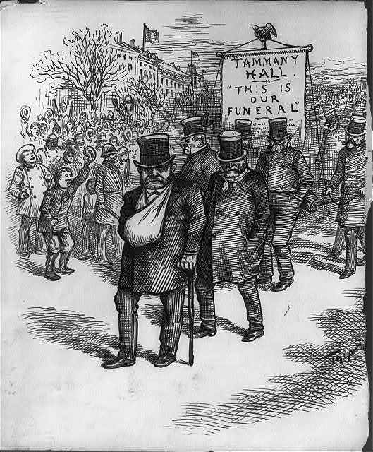 "[""Tammany Hall is going to the inauguration."" News.  They can't help themselves]"