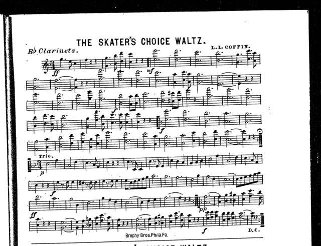 The  Skater's choice waltz