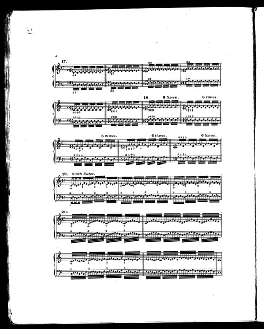 Theodore Hoffmann's 25 five finger exercises