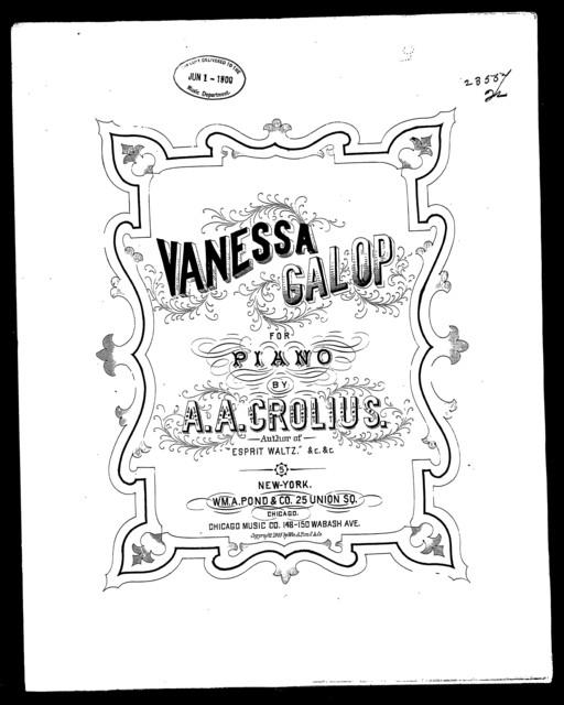 Vanessa galop