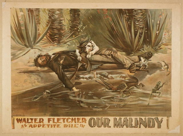 """Walter Fletcher as """"Appetite Bill"""" in Our Malindy"""