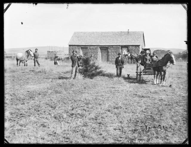 Al Thomas, Merna, Custer County, Nebraska.