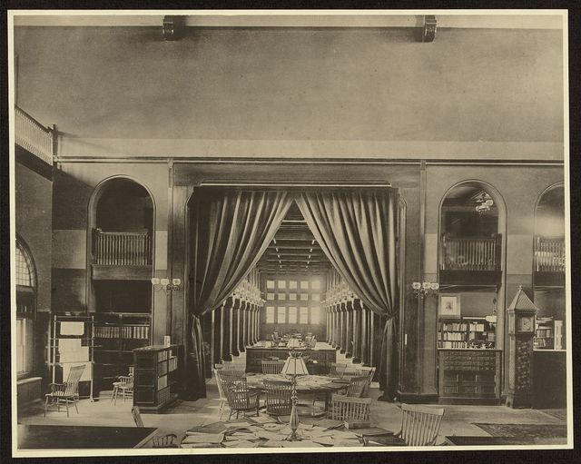 [Book Room, Billings Library, University of Vermont, Burlington, Vermont]