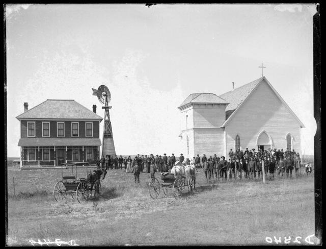 Catholic Church, Dale, Custer County, Nebraska