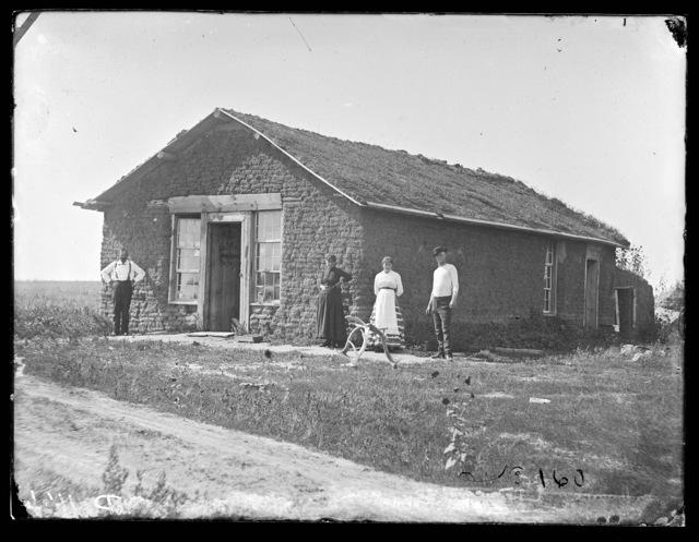 C.D. Pelham house at Broken Bow, Custer County, Nebraska.