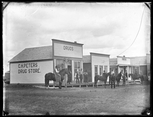 C.H. Peters Drug Store, West Union, Custer County, Nebraska.
