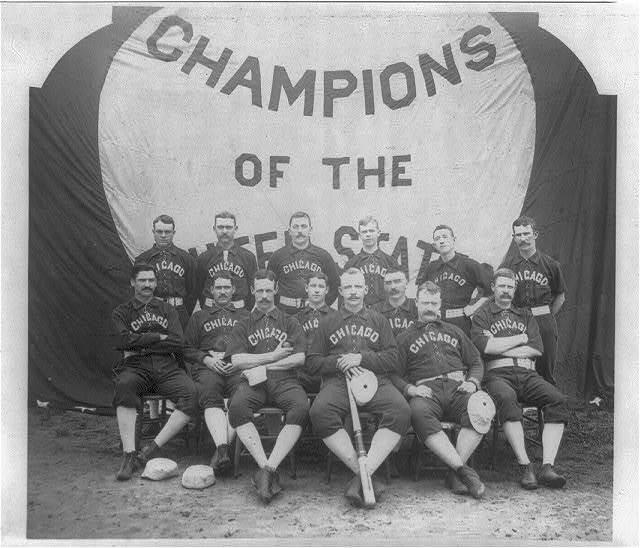Chicago National League base ball team, 1885-6