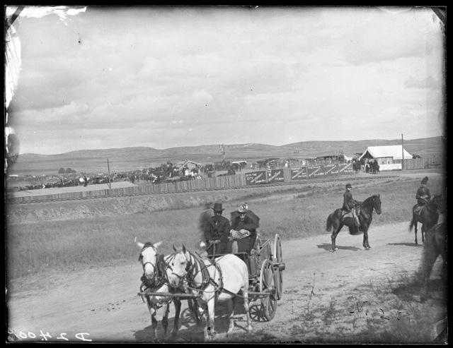 Custer County Fairgrounds in Broken Bow, Nebraska.