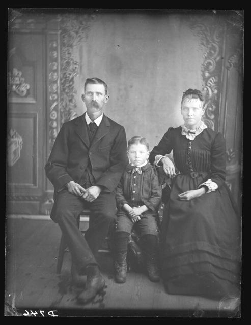E.H. Peters (or C.H. Peters), West Union, Nebraska.