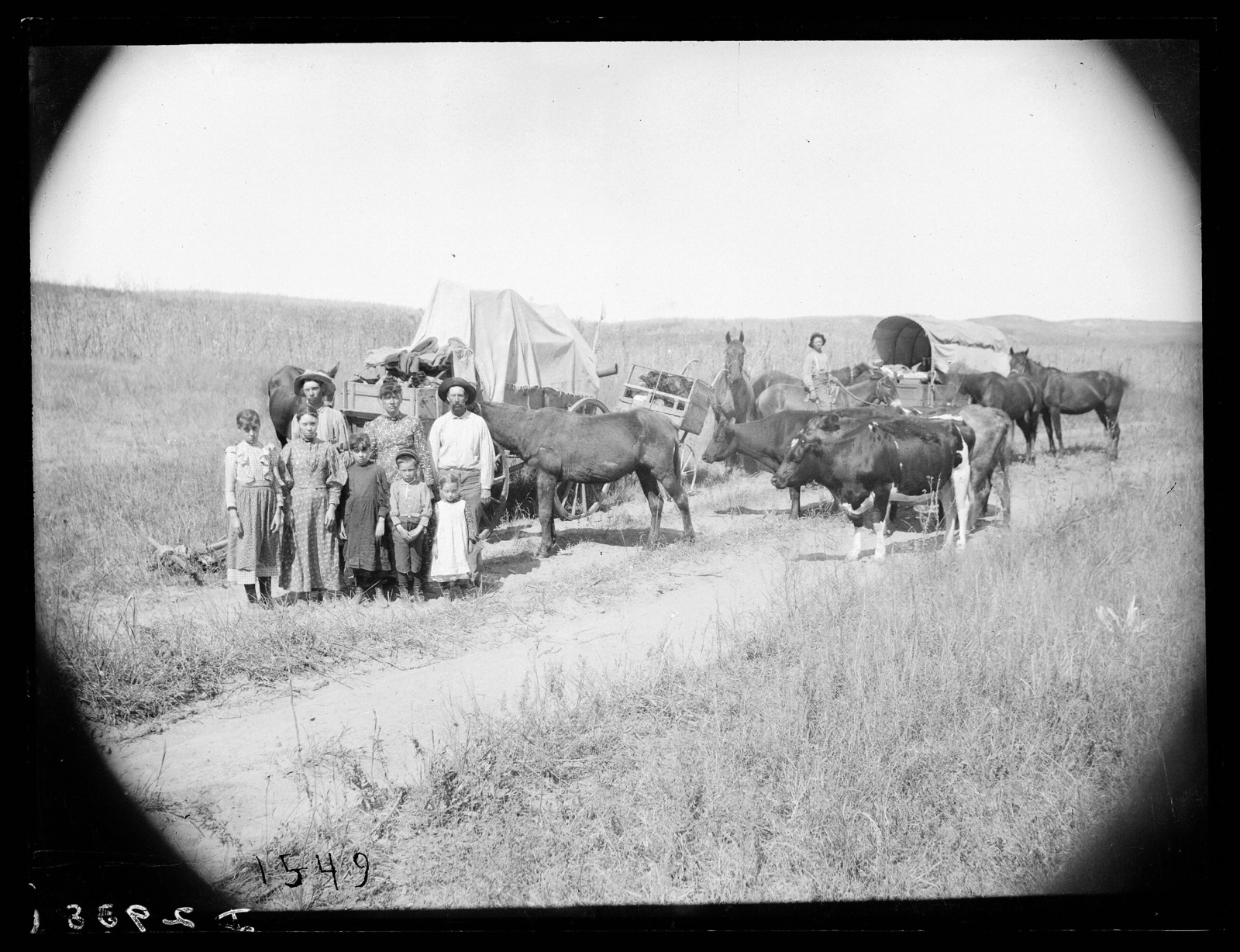 Emigrants at the Gates P.O., Custer County