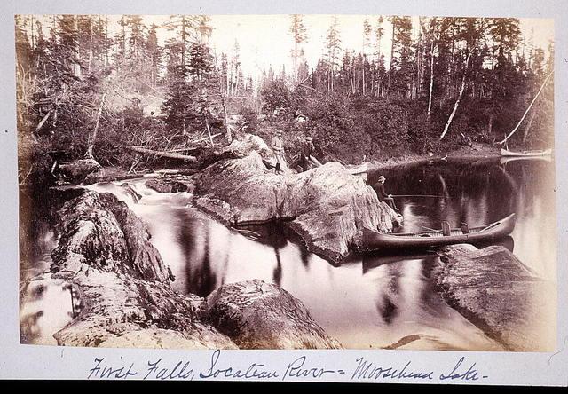 First falls Socateau River - Moosehead Lake