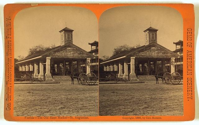 Florida - The old slave market  - St. Augustine