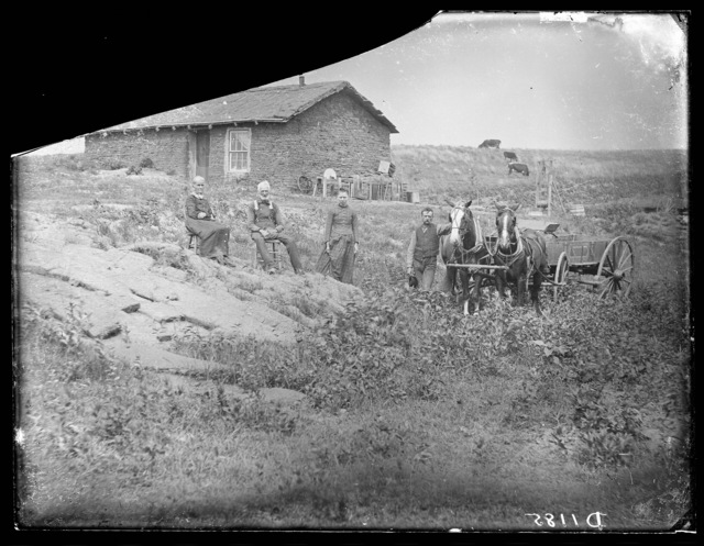 """""""Generations of Farmers"""" Custer County, Nebraska."""