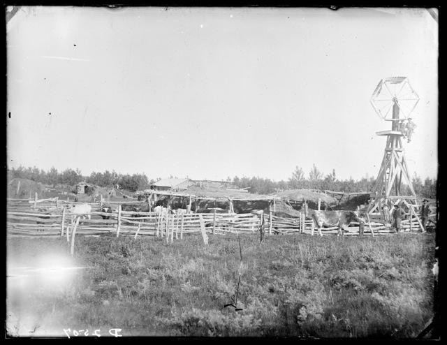 George Garrison farm
