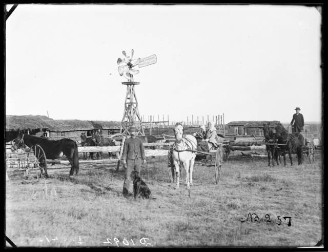 H. Gates, Gates, Custer County, Nebraska.