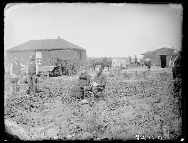 """In the Garden"" Near Anselmo, Custer County, Nebraska."