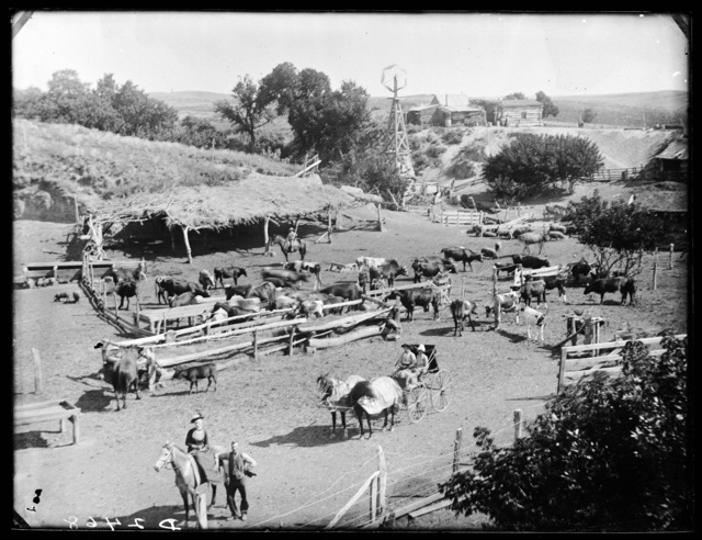 Jack Roath Ranch, northwest of West Union, Nebraska.