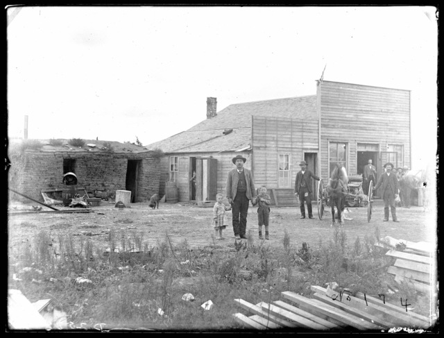James Kelley Store at Dale, five miles from Merna, Custer County