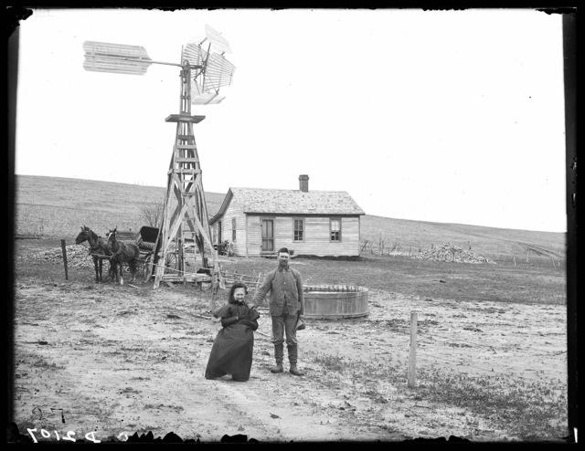 J.B. Davis, near Ansley, Custer County, Nebraska.