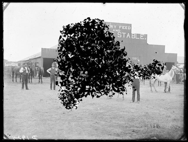 John S. Hastings, Livery Barn, Broken Bow, Custer County, Nebraska.