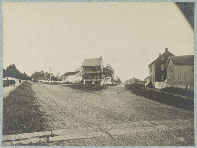 Junction of Baltimore Pike and Emmitsburg Road, Gettysburg, July, 1886