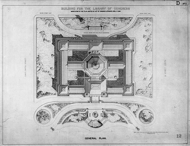 [Library of Congress, Washington, D.C. General plan, D series]