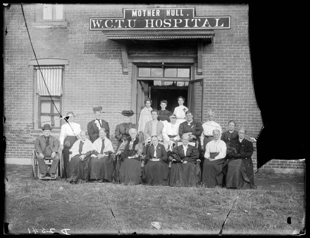 Mother Hull's W.C.T.U. Hospital, Kearney, Nebraska