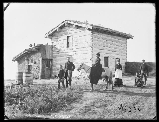 Newton Sims on Victoria Creek (New Helena), Custer County, Nebraska