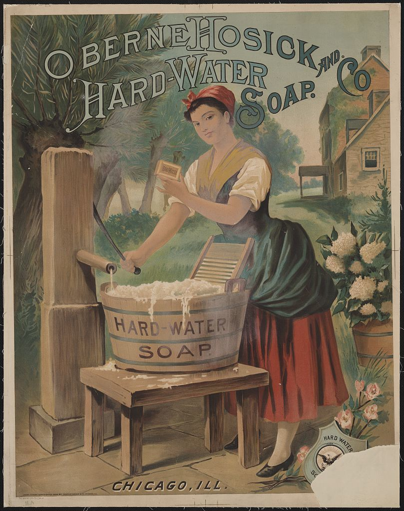 Oberne Hosick and Co. hard-water soap. Chicago, Ill.