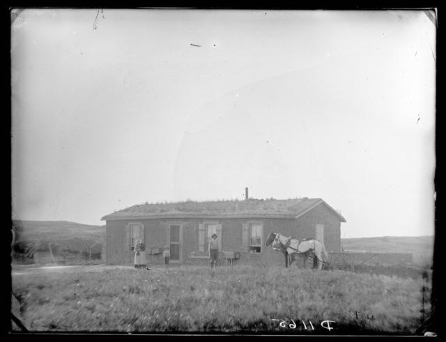 Orvis (Orvas) Pike, Old Jefferson Post Office, Custer County, Nebraska